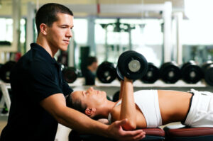 Personal Trainer Chest Press